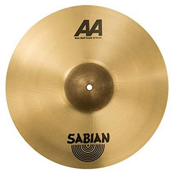 Cymbal Sabian AA Crash, Raw Bell 16