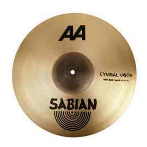 Cymbal Sabian AA Crash, Raw Bell 16, Brilliant
