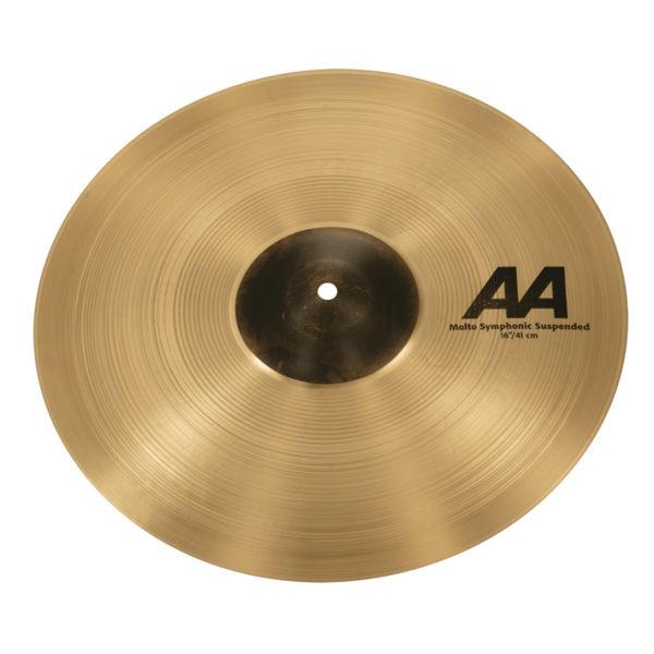 Cymbal Sabian AA Crash, Molto Symphonic Suspended 16, Brilliant
