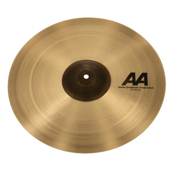 Cymbal Sabian AA Crash, Molto Symphonic Suspended 17, Brilliant