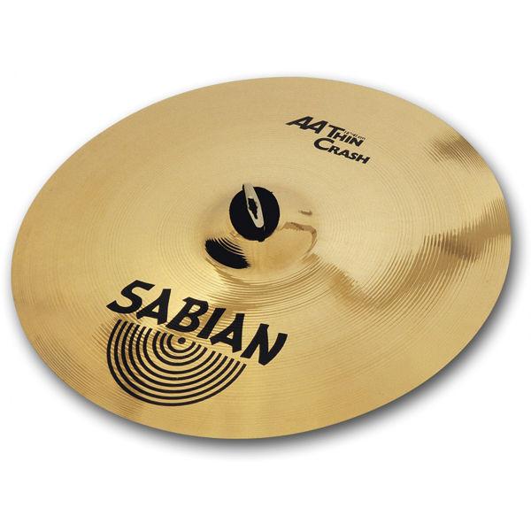 Cymbal Sabian AA Crash, Thin 18