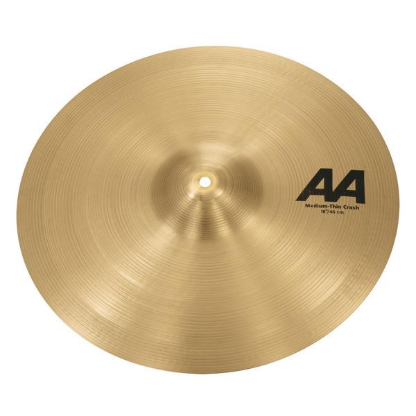 Cymbal Sabian AA Crash, Medium Thin 18