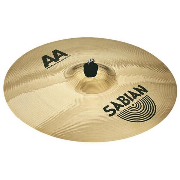 Cymbal Sabian AA Crash, Medium 18, Brilliant
