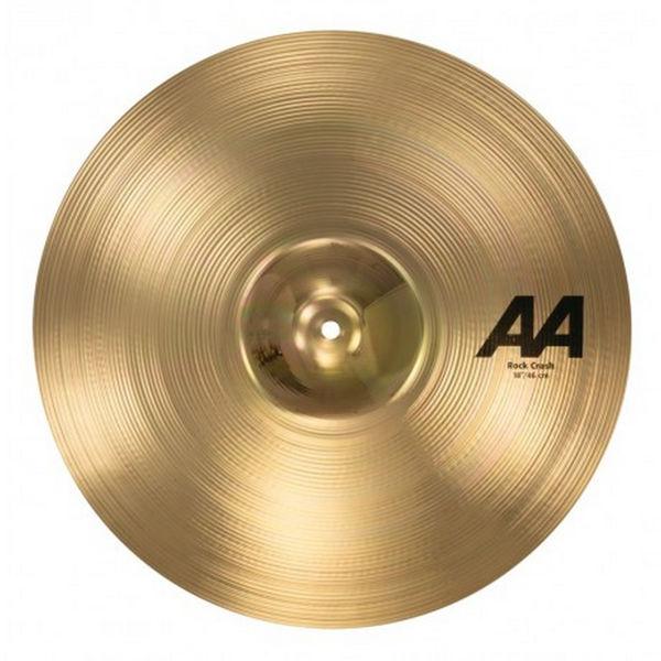 Cymbal Sabian AA Crash, Rock 18, Brilliant