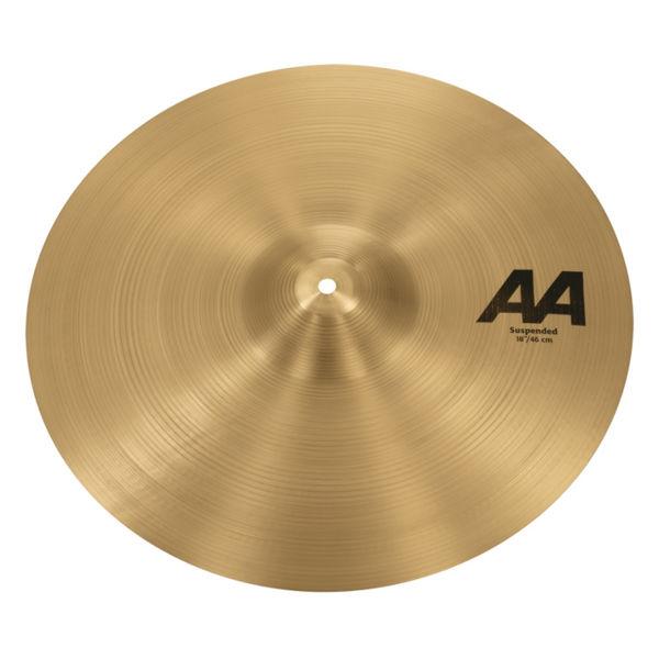 Cymbal Sabian AA Crash, Suspended 18, Brilliant