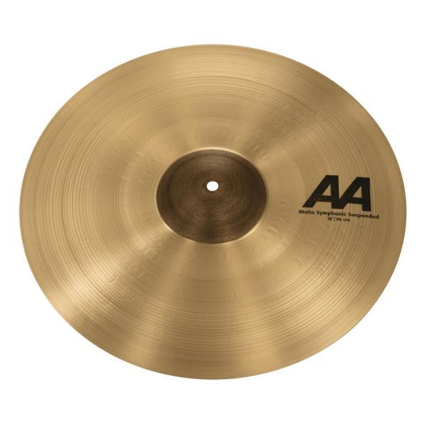 Cymbal Sabian AA Crash, Molto Symphonic Suspended 18, Brilliant