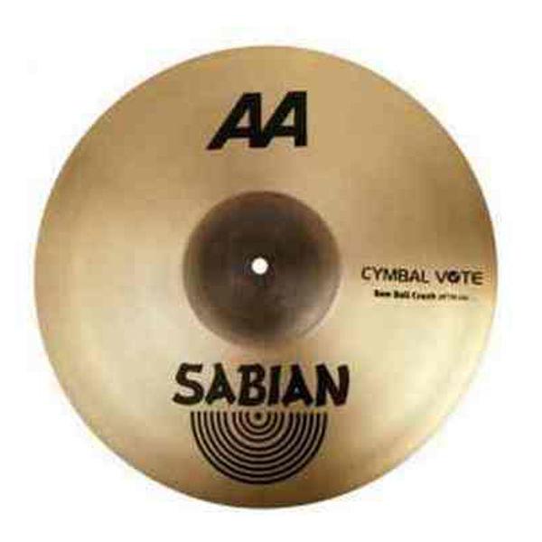Cymbal Sabian AA Crash, Raw Bell 20, Brilliant
