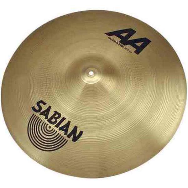 Cymbal Sabian AA Ride, Medium 20, Brilliant