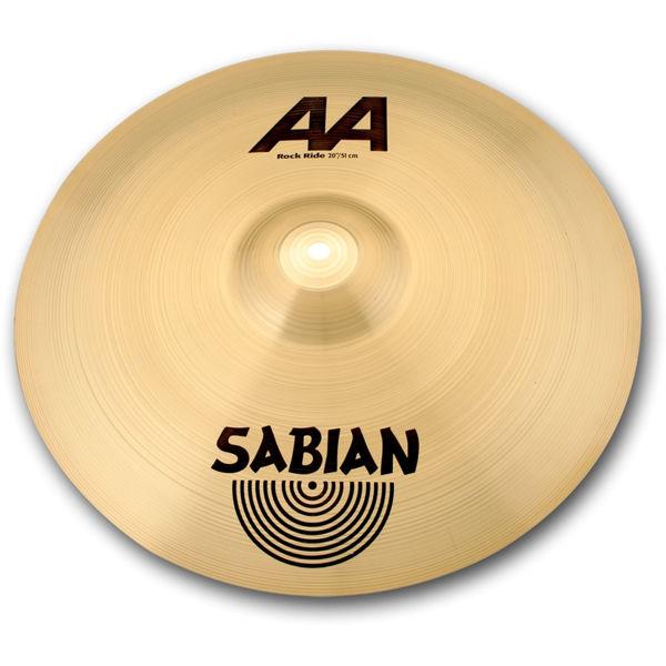 Cymbal Sabian AA Ride, Rock 20, Brilliant