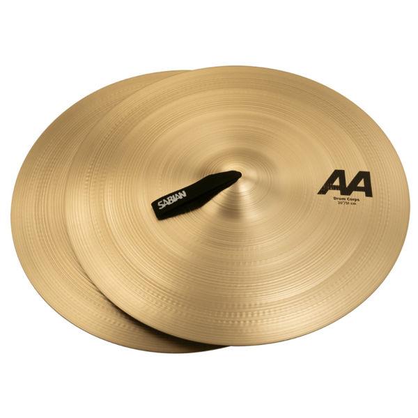 Marsjcymbal Sabian AA, Drum Corps, Heavy 20, Brilliant