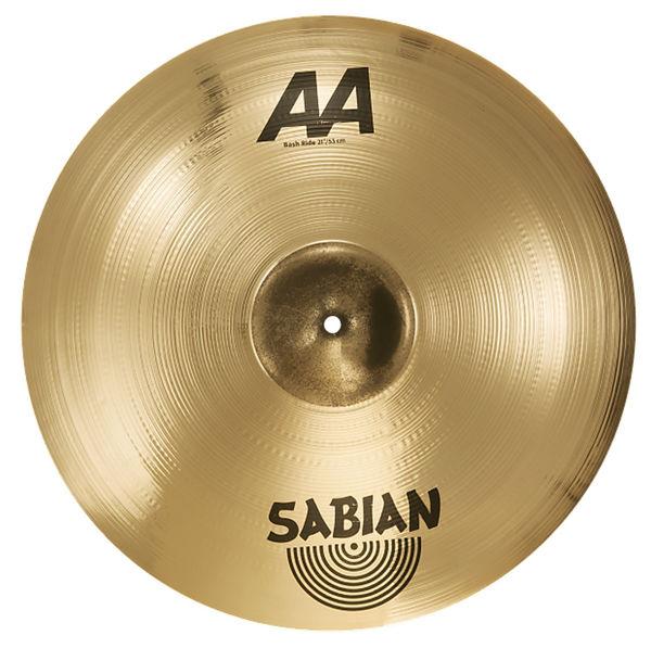 Cymbal Sabian AA Ride, Bash 21, Brilliant