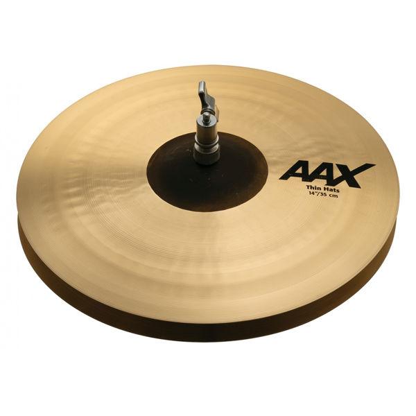 Hi-Hat Sabian AAX, Thin 14, Pair