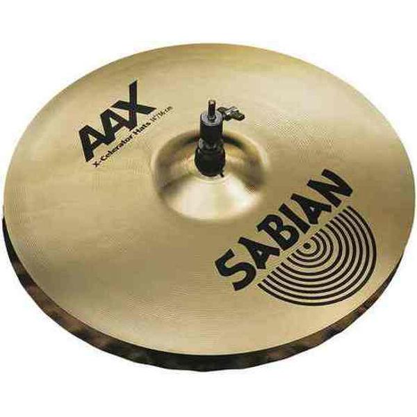 Hi-Hat Sabian AAX, X-Celerator 14, Brilliant, Pair