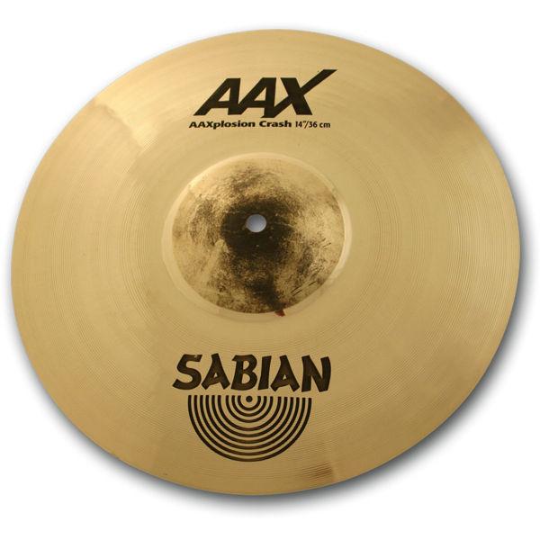 Cymbal Sabian AAX Crash, X-Plosion 14, Brilliant