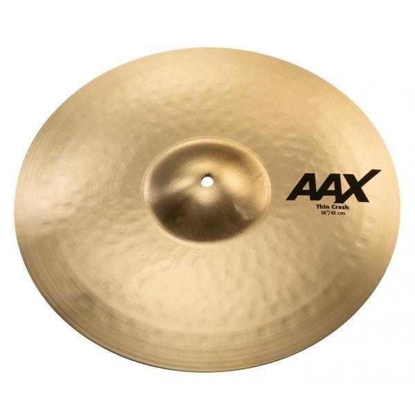 Cymbal Sabian AAX Crash, Thin 16, Brilliant