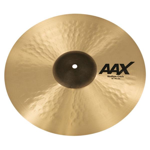 Cymbal Sabian AAX Crash, Medium 16, Brilliant