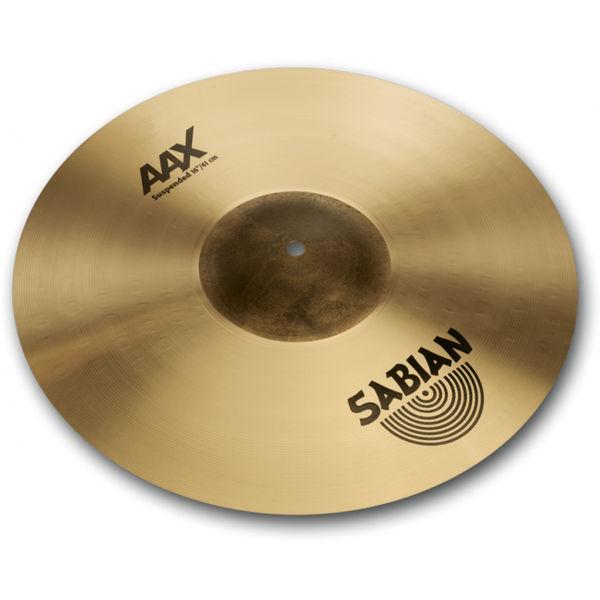 Cymbal Sabian AAX Crash, Suspended 16, Brilliant
