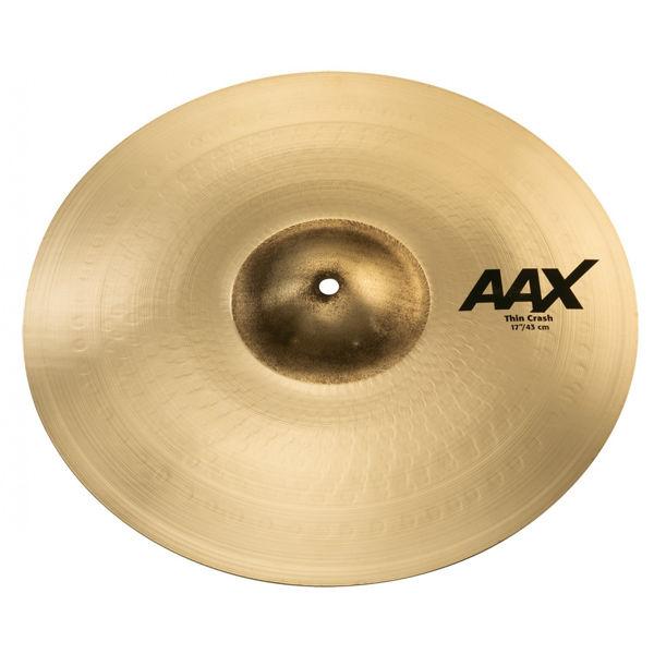 Cymbal Sabian AAX Crash, Thin 17, Brilliant