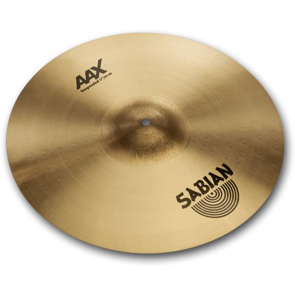 Cymbal Sabian AAX Crash, Suspended 17, Brilliant