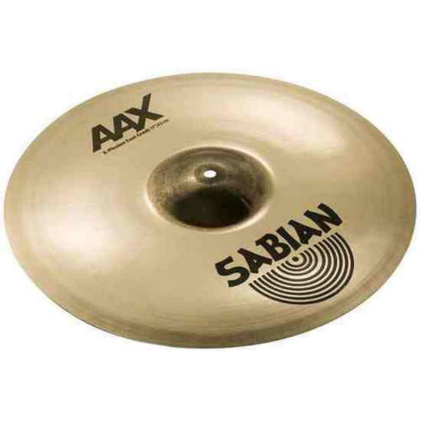 Cymbal Sabian AAX Crash, X-Plosion Fast 17, Brilliant