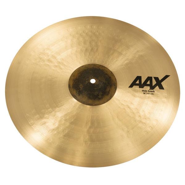 Cymbal Sabian AAX Crash, Thin 18