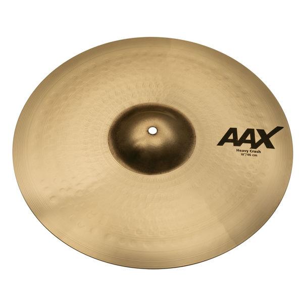 Cymbal Sabian AAX Crash, Heavy 18, Brilliant