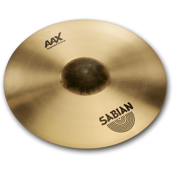 Cymbal Sabian AAX Crash, Suspended 18, Brilliant