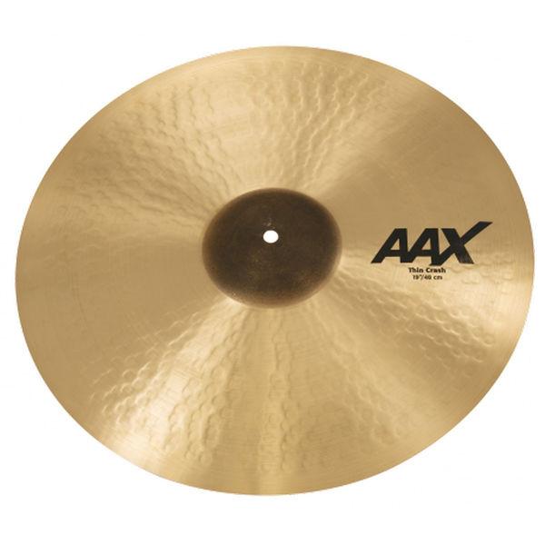 Cymbal Sabian AAX Crash, Thin 19
