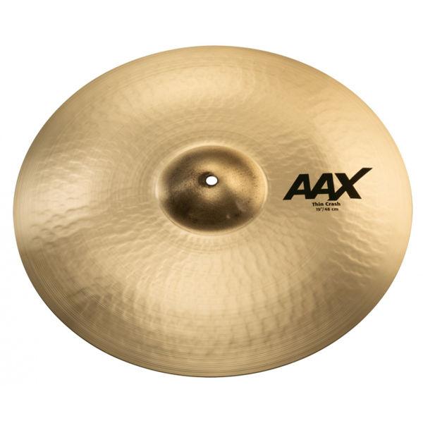 Cymbal Sabian AAX Crash, Thin 19, Brilliant