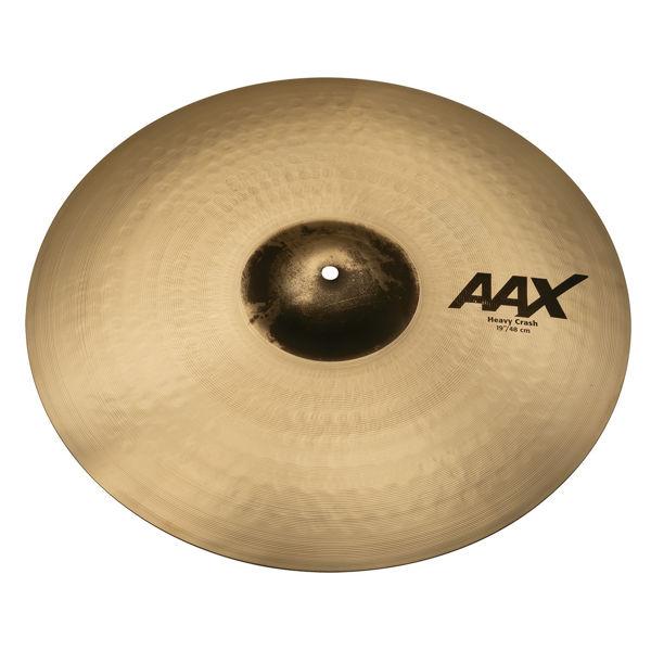 Cymbal Sabian AAX Crash, Heavy 19, Brilliant