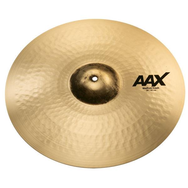 Cymbal Sabian AAX Crash, Medium 20, Brilliant