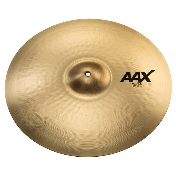 Cymbal Sabian AAX Ride, Thin 20, Brilliant