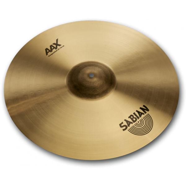 Cymbal Sabian AAX Crash, Suspended 20, Brilliant