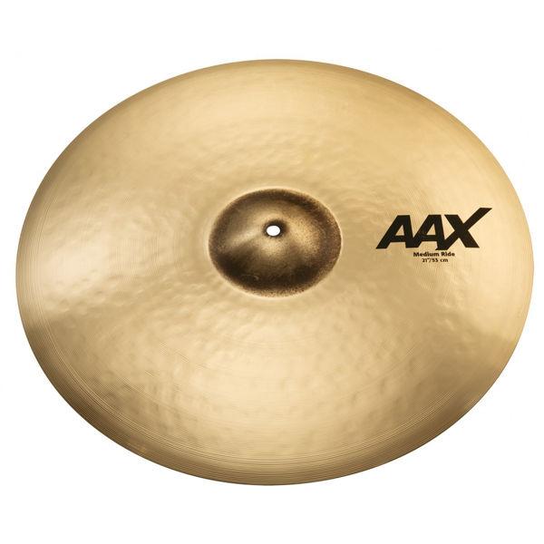 Cymbal Sabian AAX Ride, Medium 21, Brilliant