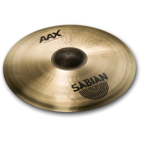 Cymbal Sabian AAX Ride, Raw Bell Dry 21