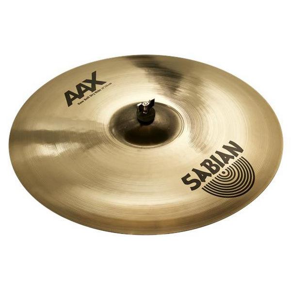 Cymbal Sabian AAX Ride, Raw Bell Dry 21, Brilliant