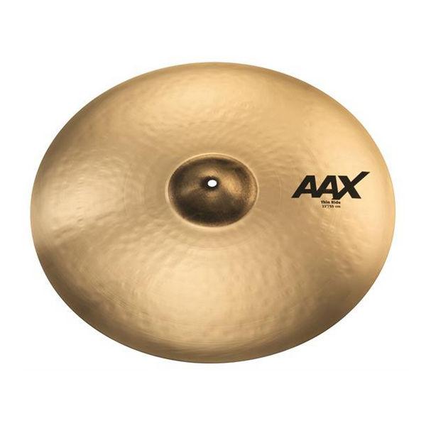 Cymbal Sabian AAX Ride, Thin 22, Brilliant