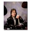 Trommestikker Regal Tip Performer Jeff Porcaro 208R-JP, Natural Ulakkert Hickory, Wood Tip