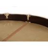Slåttetromme Apica, 16x16 Tretromme m/Taustrammet Naturskinn, Bandolær og Bag