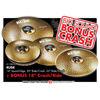 Cymbalpakke Paiste Rude Classic Sett 14-20-22 + 18