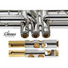 Kornett Stomvi Bb Titan Copper Bell Silverplated (incl Dynasound Valve guides, Valve Clappers and Bottom Cap Clappers)