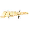 Temple Blocks Grover TPB-X, 5-Piece Set w/Mounting Clamp