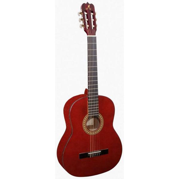 Gitar Klassisk Morgan CG-10 3/4 Vinrød