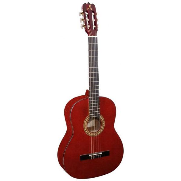Gitar Klassisk Morgan CG-10 Vinrød