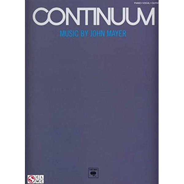 Continum - Music By John Mayer - Piano/vokal/gitar