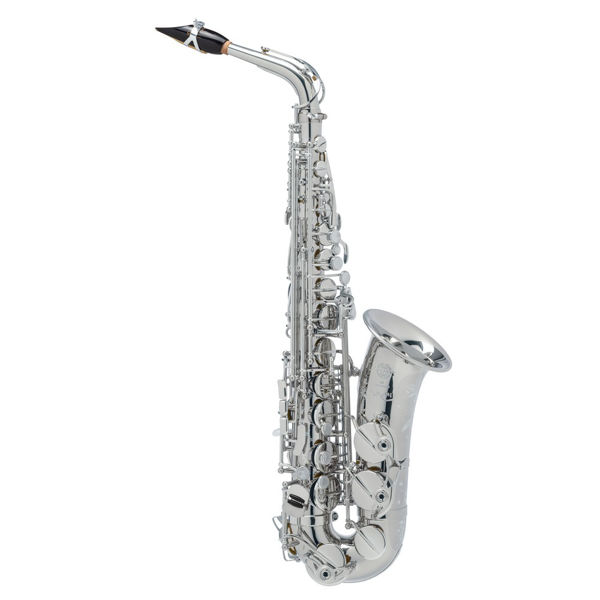 Altsaksofon Selmer Supreme, Silver plated, Outfit