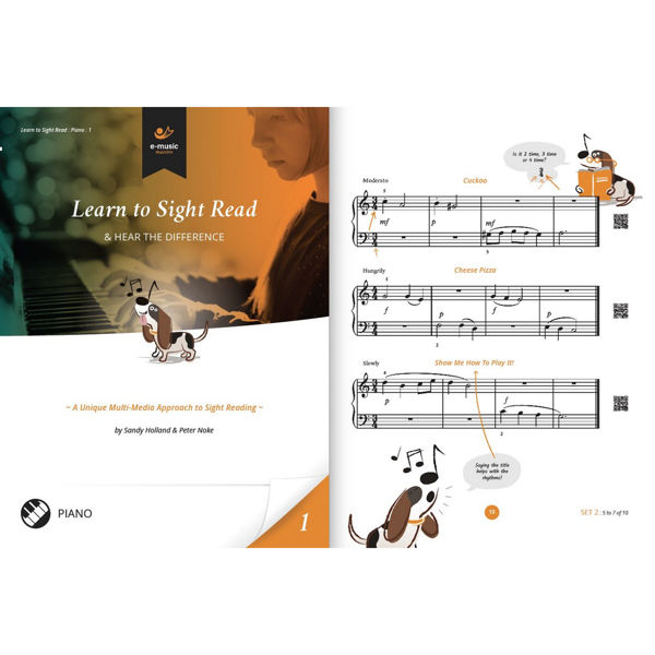 Learn to Sight Read Book 1 Piano, Sandy Holland and Peter Noke
