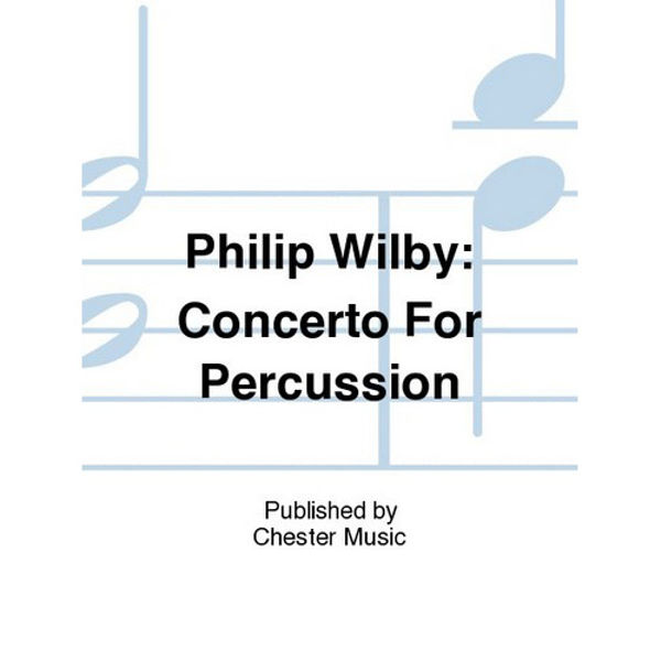 Concerto For Percussion, PhilIp Wilby