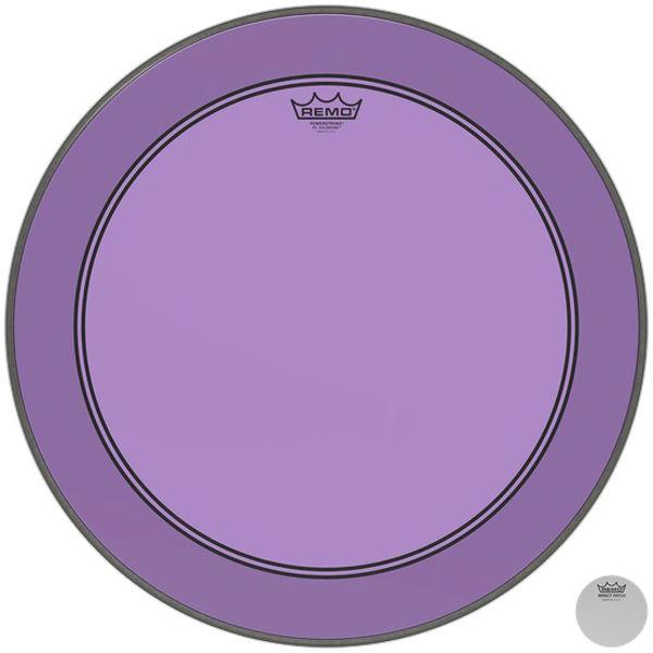 Stortrommeskinn Remo Powerstroke 3 Colortone, P3-1318-CT-PU, Purple 18