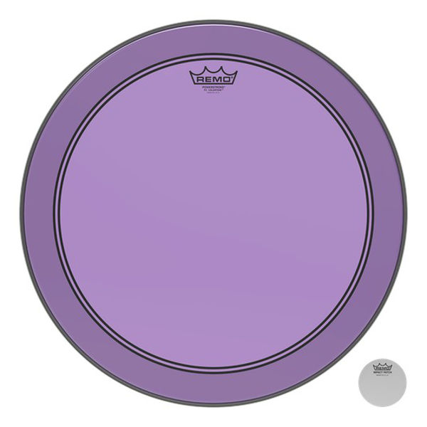 Stortrommeskinn Remo Powerstroke 3 Colortone, P3-1326-CT-PU, Purple 26